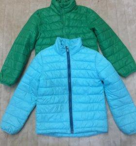 Куртка на тёплую осень, на 7-8 лет