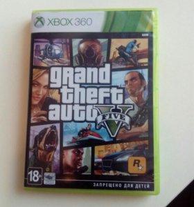 Лицензионная игра GTA 5 для xbox 360
