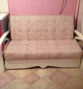 Продам диван-аккордеон.
