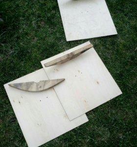 Заготовки для снегоуборочной лопаты