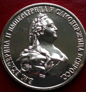 Россия рубль 1796г - Екатерина II