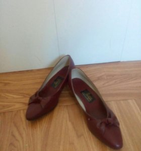 Новые! Кожаные туфли женские