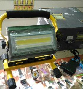 Прожектор беспроводной LED 100W