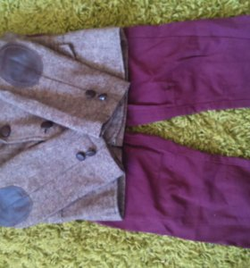 Костюм тройка (пиджак, брюки, рубашка)