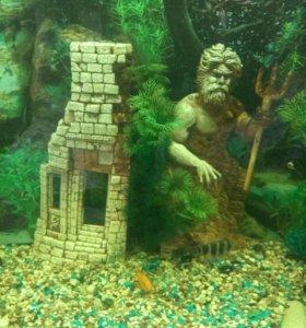 Декор в аквариум