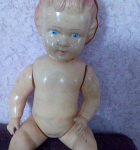 Кукла целлулоидная (с дефектами)
