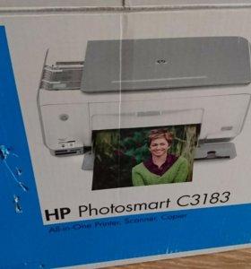 МФУ струйный принтер HP Photosmart C3183