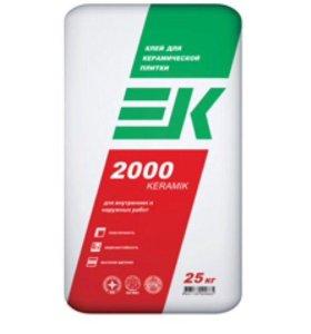 Клей для плитки KERAMIK 2000