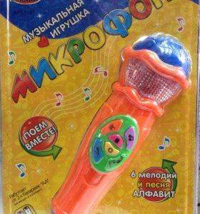 Музыкальная игрушка микрофон
