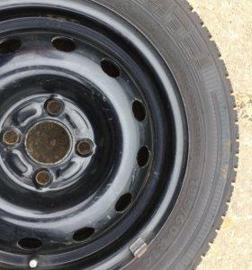 Летнее колесо на диске