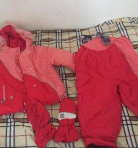 Комбинизон и куртка (зимний комплект)