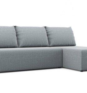 Угловой диван 196х75х133 см