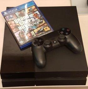 PlayStation 4, 500Gb + GTA 5