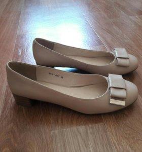 Новые туфли натуралка