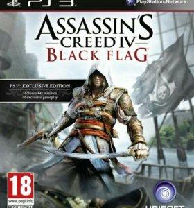 Assassin's Creed Черный Флаг PS3