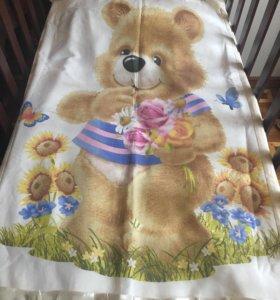 Постельное белье на детскую кроватку