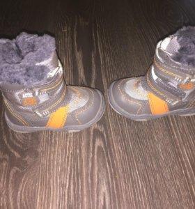 Зимние сапожки детские