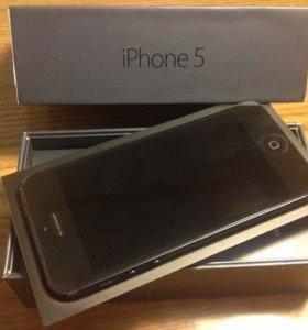 Продам айфон 5 16g черный.