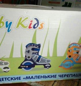 Продам детские ролики р26-29