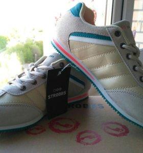 Новые кроссовки Strobbs. 36