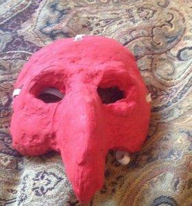 """Венечианская маска """"чумной доктор"""""""