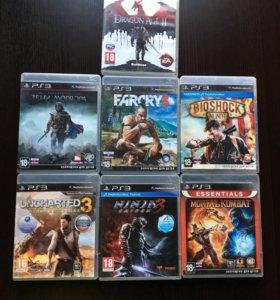 Диски от PS3