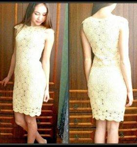 Платье ручной работы (Новое)