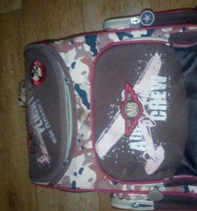 Ранец ортопедический, б/у + сумка для сменки