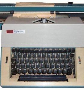 Печатная машинка Optima robotron 20