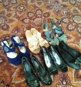 Туфли, басаножки, балетки.