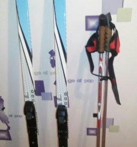 Продам лыжи и полный комплект к ним