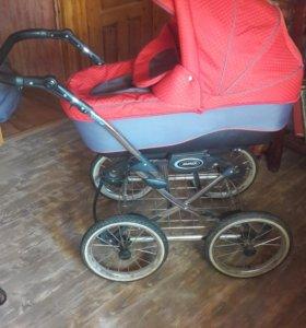 Детская коляска 2 в 1 adamex senso
