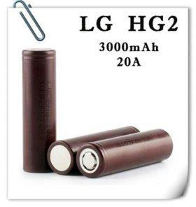 Литий-ионный аккумулятор 18650 LG HG2 оригинальный