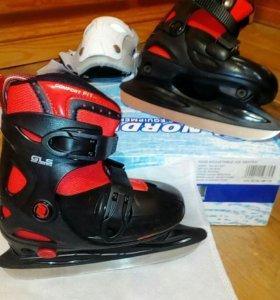 Коньки хоккейные для мальчика