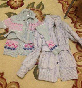 куртка и жакет для девочек