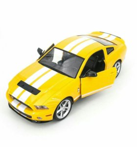 MZ Ford Mustang GT500 Yellow 1:14 машинка на р\у