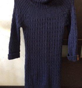 Платье шерстяное xs-s
