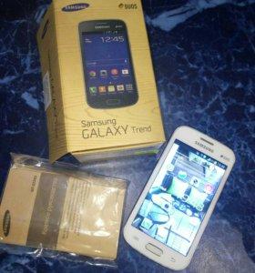 Телефон SAMSUNG GALAXY Trend duos