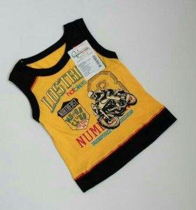 Новые футболки для мальчиков и девочек