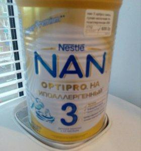 Смесь гипоаллергенная NAN 3
