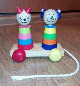 Пирамидка Кот и Пес