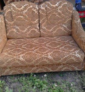 2 кресла ,диван (раскладные)