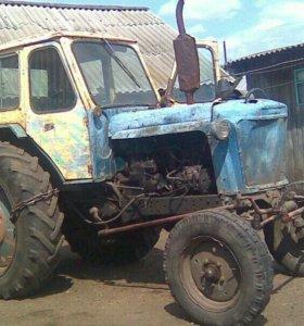 трактор с тележкой