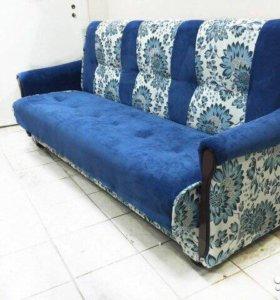 00085 новый диван книжка вильвет люкс от фабрики