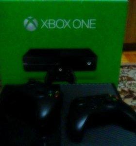 Xbox one+ 7игр+ gold, в комплекте 1 джойстик