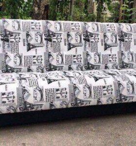 00087 новый диван книжна Париж от фабрики
