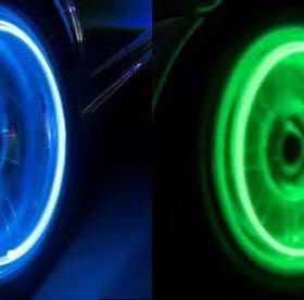 Неоновые лампы на колеса
