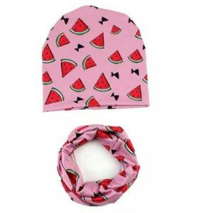 Шапка и снуд шарф