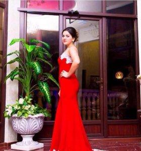 Платье вечернее одевала один раз