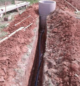Водопровод из колодца,сантехника,канализация